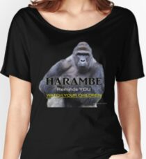 Harambe the Gorilla Women's Relaxed Fit T-Shirt