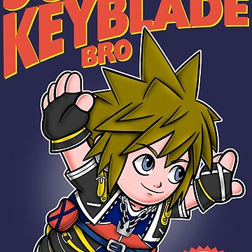 Super Keyblade Bro by paula-garcia