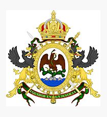 Coat of Arms of the Second Mexican Empire Photographic Print
