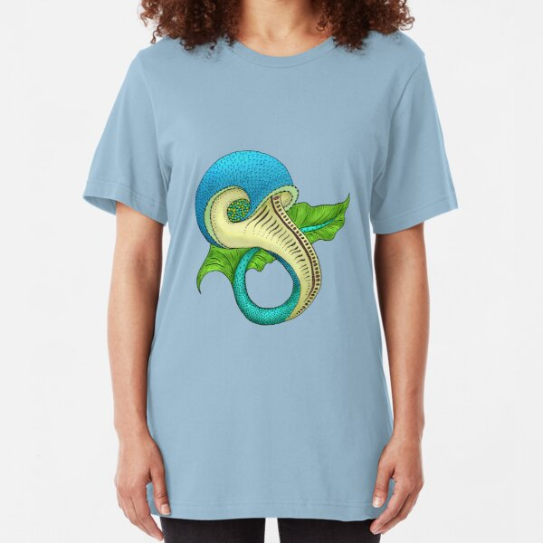 Odd Fish -- in color--Tee Slim Fit T-Shirt