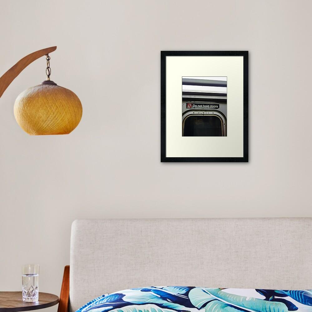 Pattern, design, tracery, weave, periodic pattern, symmetry, #pattern, #design, #tracery, #weave, #symmetry, #PeriodicPattern #NewYork Framed Art Print