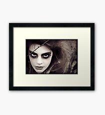The Ravens Rag Doll Framed Print