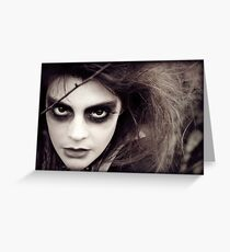 The Ravens Rag Doll Greeting Card