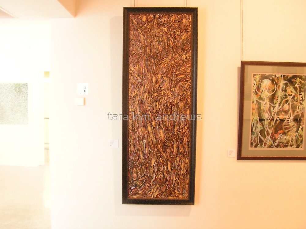textures of nature by tara kim  andrews