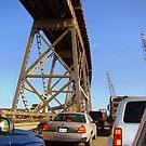 Stuck In Bridge Traffic by Wanda Raines