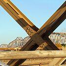 Huey P. Long Bridge by Wanda Raines