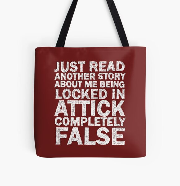 LOCKED IN ATTICK All Over Print Tote Bag
