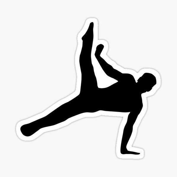 Gymnast, Gymnastics Sticker