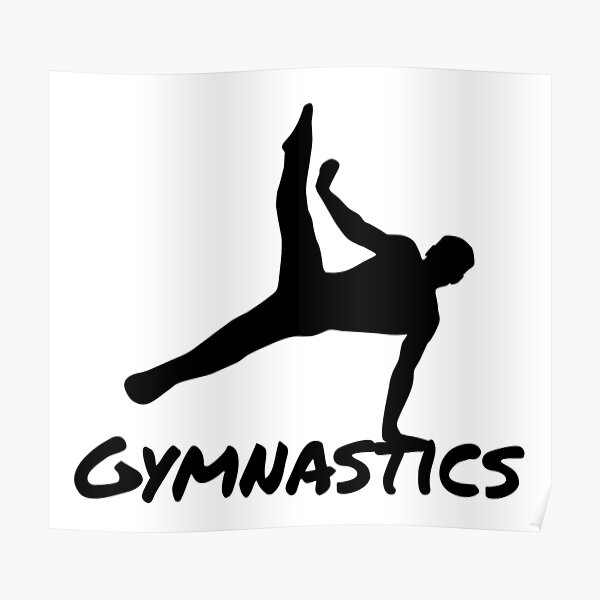 Gymnast, Gymnastics Poster