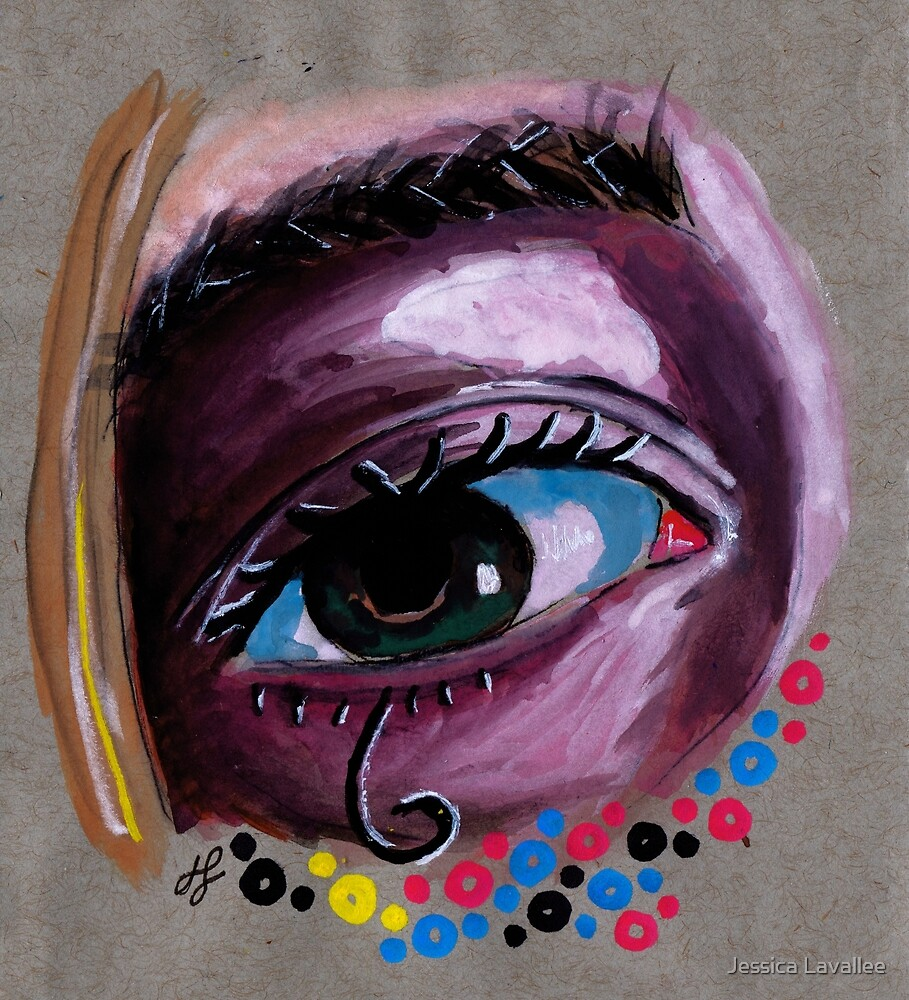 """""""eye study #2"""" by Jessica Lavallee"""