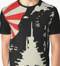 Battleships of the Imperial Japanese Navy Graphic T-Shirt