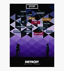 Detroit Become Human Photographic Print