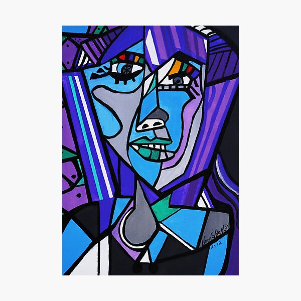 ART DECO   PICASSO BY NORA Photographic Print