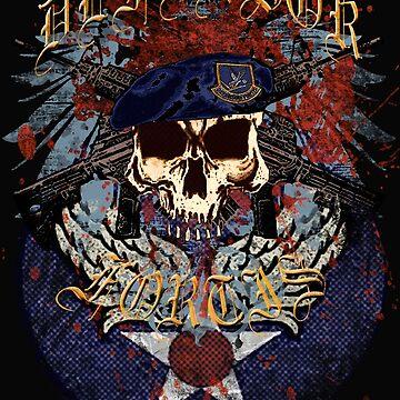 Defensor Fortis Urban Skull by ZeroAlphaActual