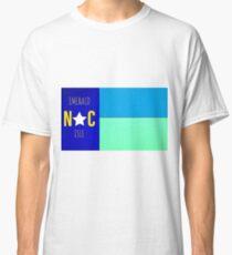 Nautical NC flag     (Emerald Isle, NC) Classic T-Shirt