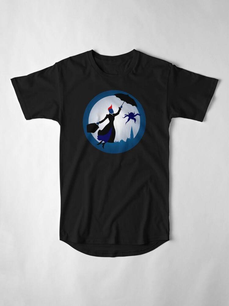 Alternative Ansicht von Ich bin Mary Poppins Longshirt