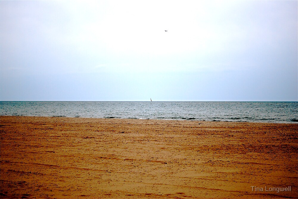 Bored at the Beach by Tina Longwell