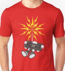 """8 Bit Buzz Bot v2.0.1 """"GearRoid"""" T-Shirt"""