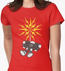 """8 Bit Buzz Bot v2.0.1 """"GearRoid"""" Womens Fitted T-Shirt"""