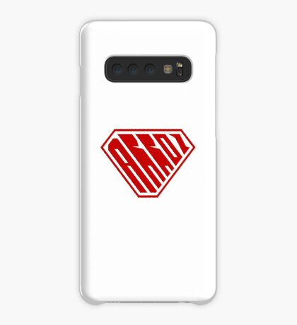 Arroz SuperEmpowered (Red) Case/Skin for Samsung Galaxy