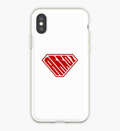 Arroz SuperEmpowered (Red) iPhone Case