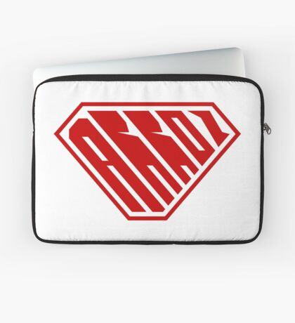 Arroz SuperEmpowered (Red) Laptop Sleeve