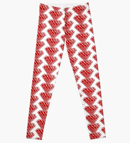 Arroz SuperEmpowered (Red) Leggings