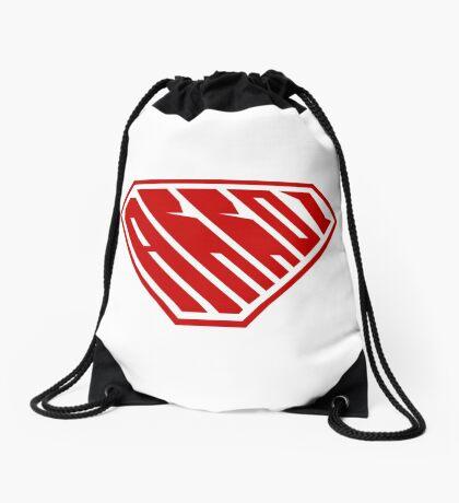 Arroz SuperEmpowered (Red) Drawstring Bag