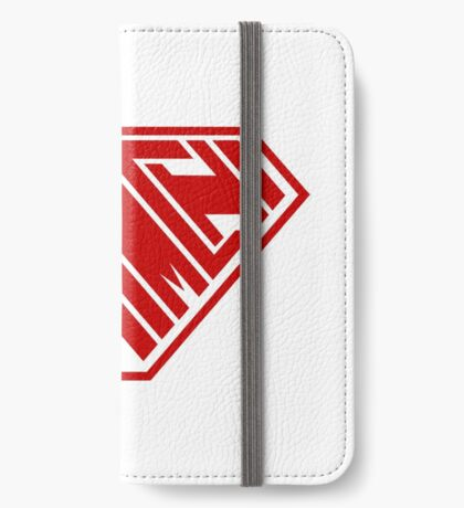 Kimchi SuperEmpowered (Red) iPhone Wallet
