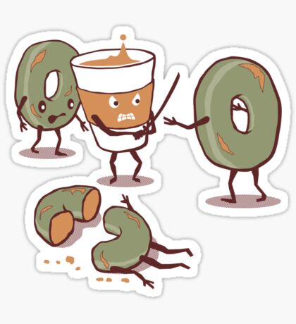 Decap Coffee Sticker