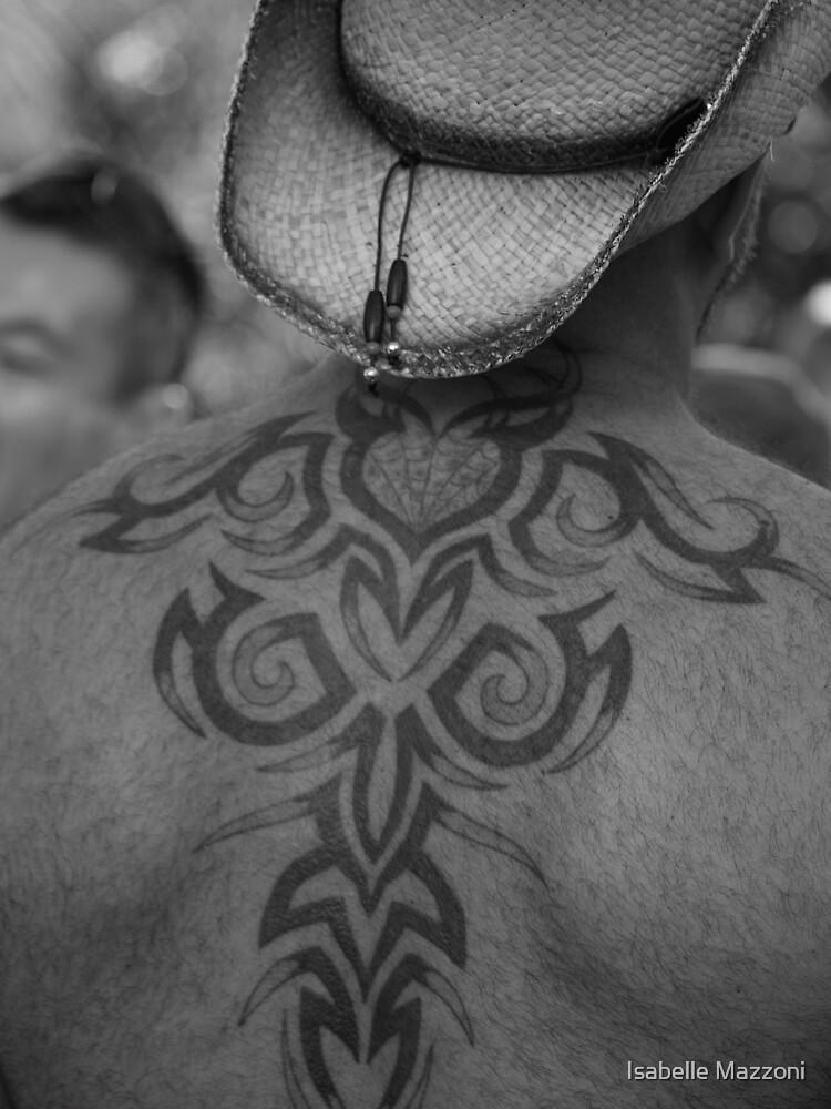 Back tatoo by Isabelle Mazzoni