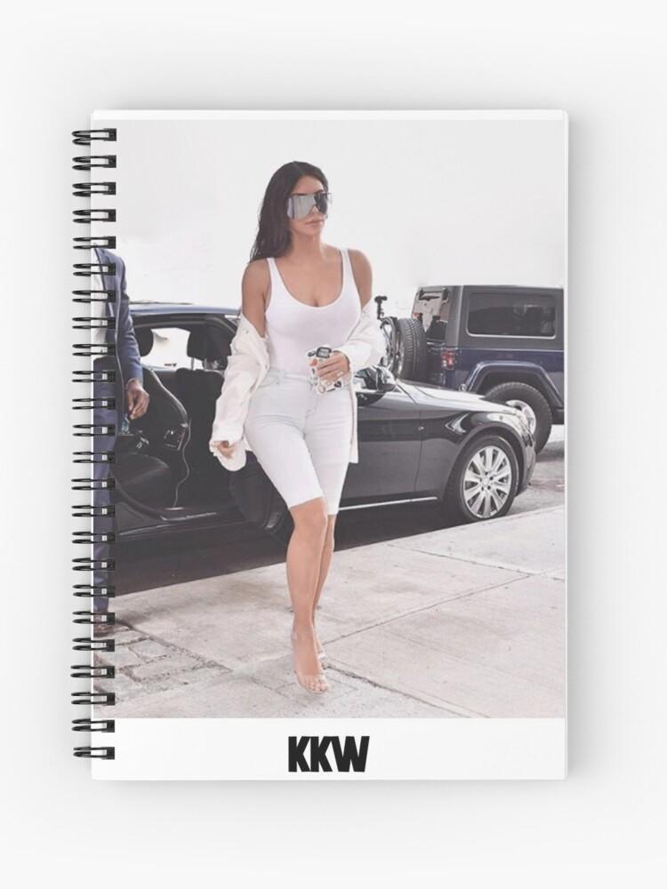 Kim Kardashian KKW 2 | Spiral Notebook