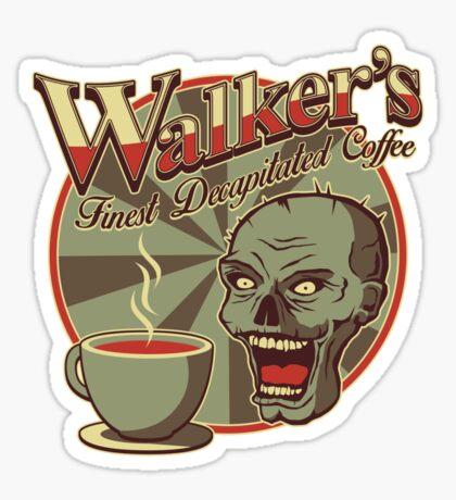 Walker's Decap Coffee Sticker