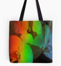 Rainbow of Orchids Tote Bag