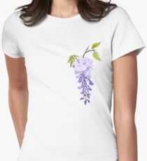 Wisteria Women's Fitted T-Shirt