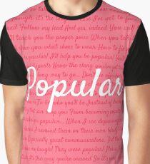Camiseta gráfica Popular