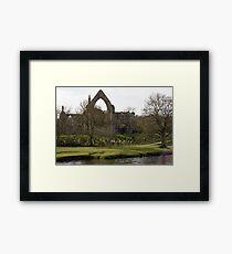 BOLTON ABBEY Framed Print