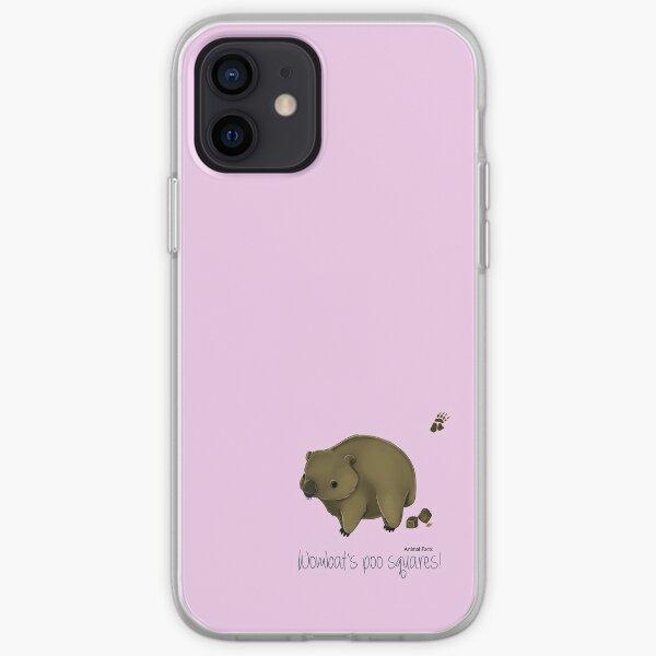 Animal Facts Australia - Wombat iPhone Soft Case