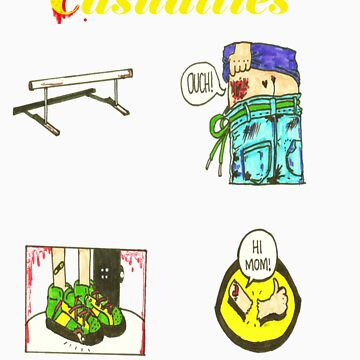 Casualties by blanksheet
