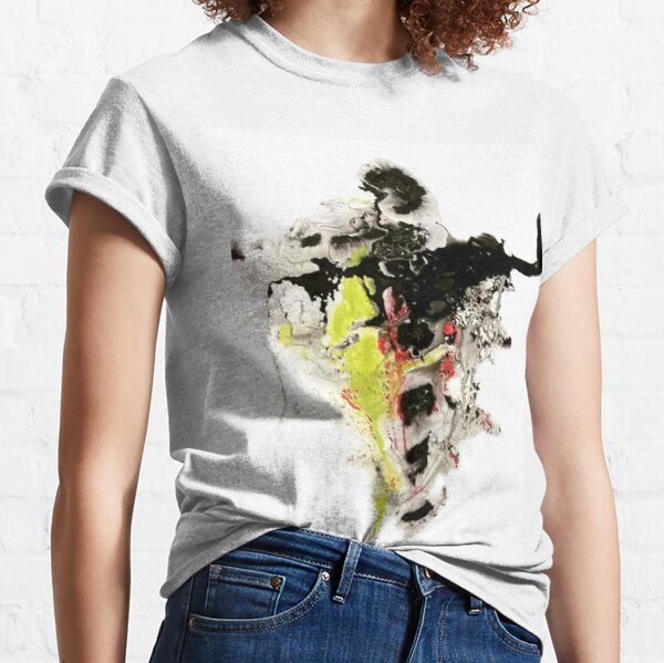 Liquid Dancer mixed media painting LD9382 Classic T-Shirt