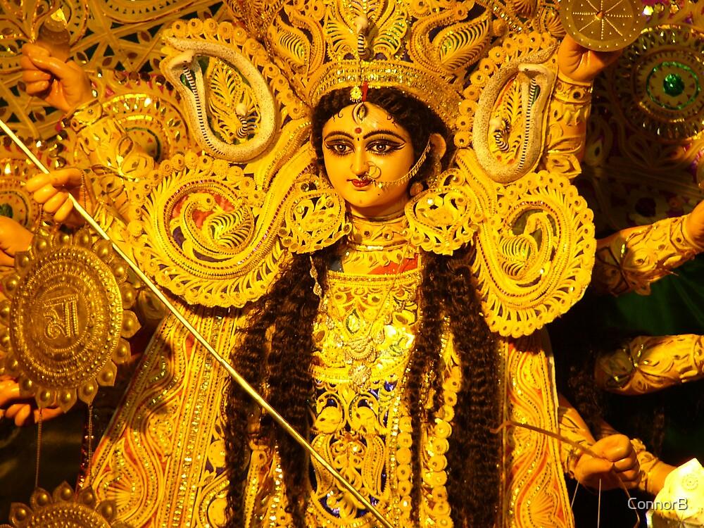 Devi Durga Kolkata India by ConnorB