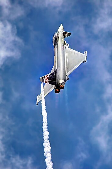 Eurofighter Typhoon - Venting ! - Farnborough 2014 by Colin  Williams Photography