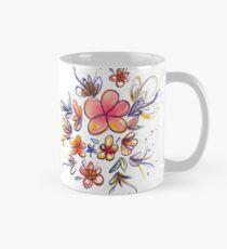 Warm watercolor flowers Mug