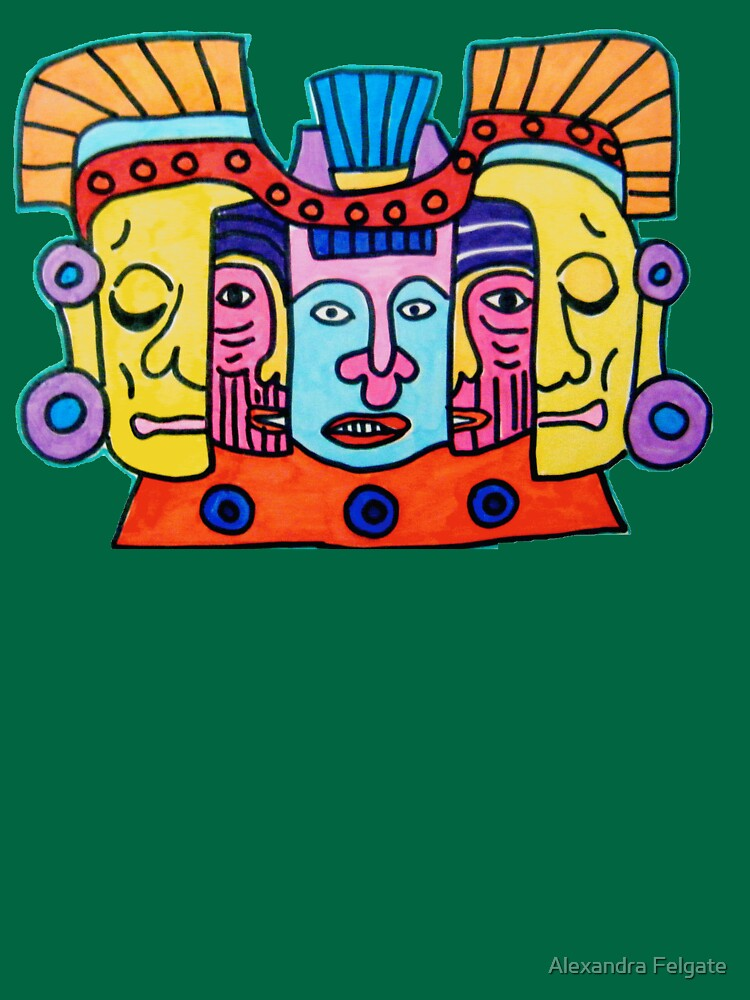 Aztec Gods Tee by aixie