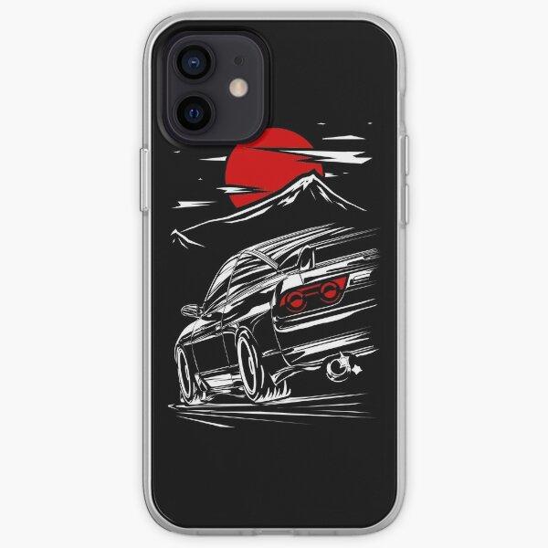 Nissan Silvia s13 | Haruna  iPhone Soft Case