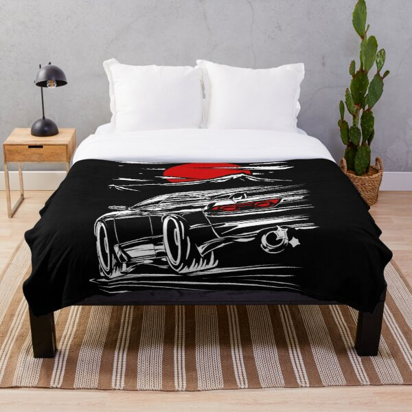 Nissan Silvia s13 | Haruna  Throw Blanket