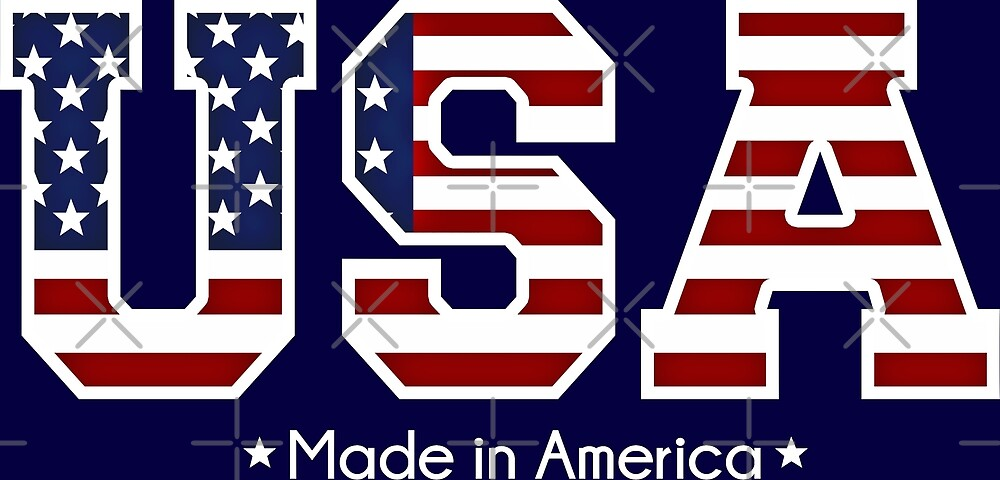 USA Made in America  by IconicTee