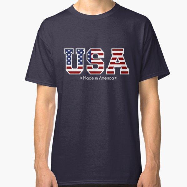 USA Made in America  Classic T-Shirt