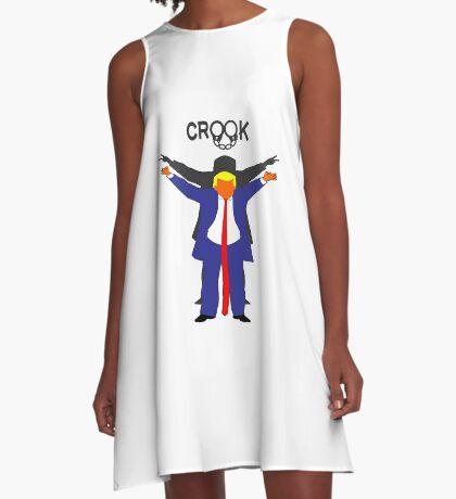Crook Trump A-Line Dress