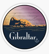 Gibraltar vintage Sticker
